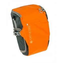 Genesis Rover toploader TAGLIA L Borsa Custodia Fondina Bag Arancione