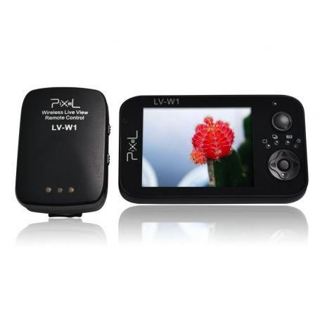 Pixel LW-V1 Wireless Live View Remote Control Telecomando Scatto Remoto x Canon