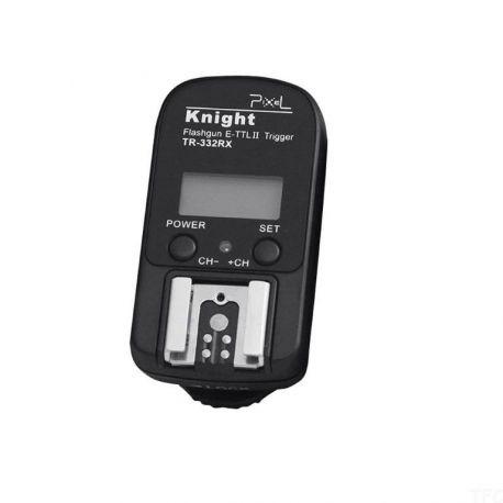 Pixel TR-332RX Trigger Flash Knight x Canon SOLO RICEVITORE