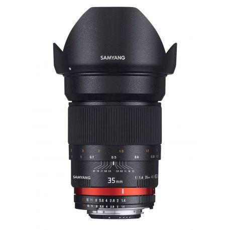 Obiettivo Samyang 35mm f/1.4 AS UMC x Sony E-mount Lens
