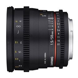 Obiettivo Samyang 50mm T1.5 AS UMC CINE x Sony E Lens