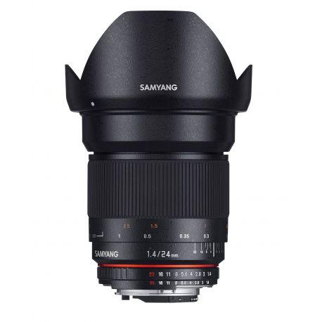 Obiettivo Samyang 24mm f/1.4 ED AS UMC x Micro Quattro Terzi M4/3 Lens