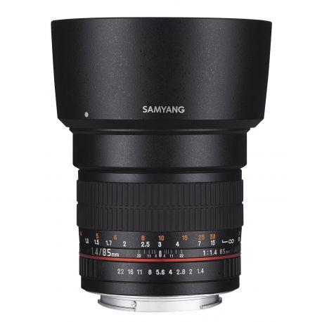 Obiettivo Samyang 85mm f/1.4 Aspherical IF x Micro Quattro Terzi M4/3 Lens