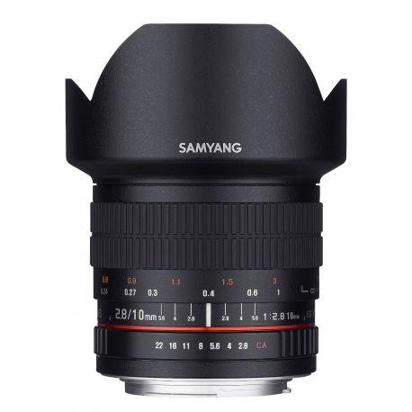 Obiettivo Samyang 10mm f/2.8 ED AS NCS CS per Fujifilm X