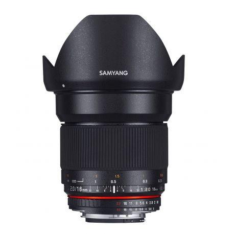 Obiettivo Samyang 16mm f/2.0 ED AS UMC CS x Fuji Fujifilm X