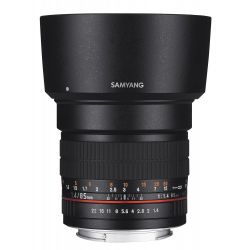 Obiettivo Samyang 85mm f/1.4 Aspherical IF x Fuji Fujifilm X Lens