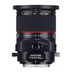 Obiettivo Samyang 24mm f/3.5 T-S ED AS UMC attacco Fujifilm
