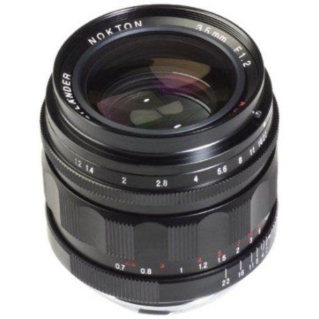 Obiettivo Voigtlander Nokton 35mm F1.2 ASPH II attacco Leica M (VM)