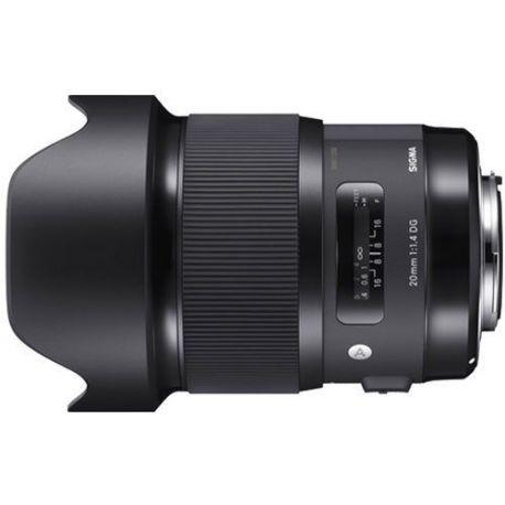 Obiettivo Sigma 20mm F1.4 DG HSM Art per Canon