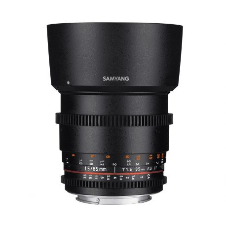 Obiettivo Samyang 85mm T1.5 AS IF UMC VDSLR II attacco Canon