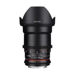 Obiettivo Samyang 35mm T1.5 AS UMC VDSLR II x Sony E-Mount Lens