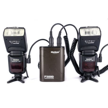Voeloon P3000 Pacco Batteria Flash Battery pack x Canon