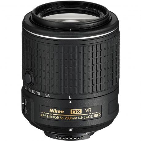 Obiettivo Nikon AF-S DX NIKKOR 55-200mm VR II PRONTA CONSEGNA