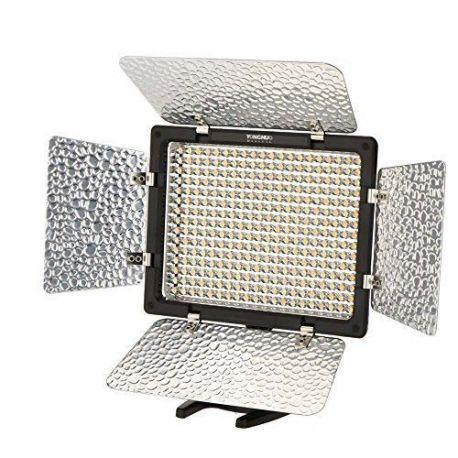 Faro Faretto LED Yongnuo YN-300III 5500K Video Light