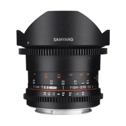 Obiettivo Samyang 8mm T3.8 Asph IF MC Fisheye CS II x Sony E-Mount