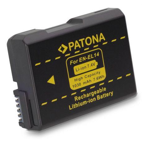 Patona Batteria EN-EL14 compatibile Nikon D5600 D5500 D5300 D3500 D3400 D3300