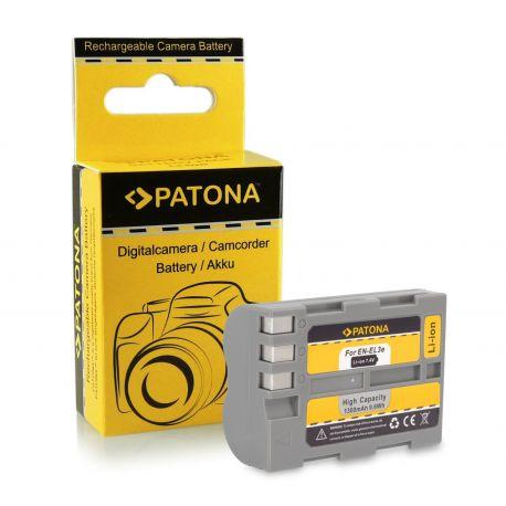 Patona Batteria 1036 EN-EL3e x Nikon