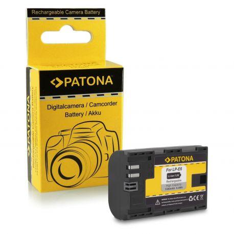 Patona Batteria 1078 LP-E6 x Canon