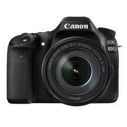 Fotocamera Canon EOS 80D Kit EF-S 18-135mm f/3.5-5.6 IS USM