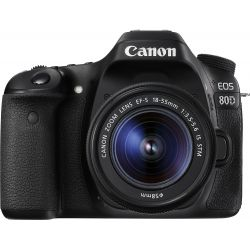 Fotocamera Canon EOS 80D Kit 18-55mm IS STM