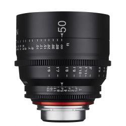 Obiettivo Samyang Xeen 50mm T1.5 x Sony E-Mount Lens