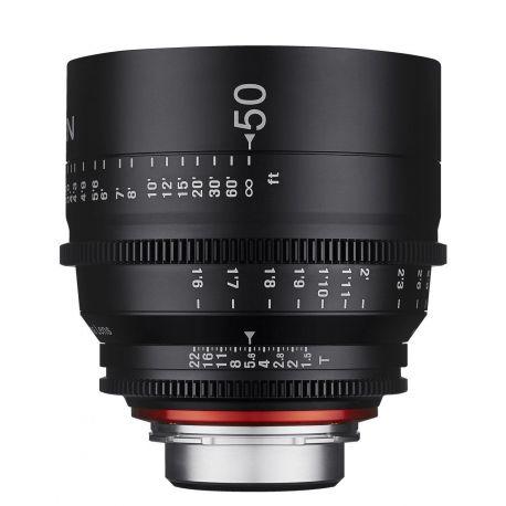 Obiettivo Samyang Xeen 50mm T1.5 per mirrorless Sony
