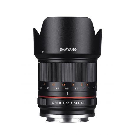 Obiettivo Samyang 21mm f/1.4 ED AS UMC CS per mirrorless Canon EOS M