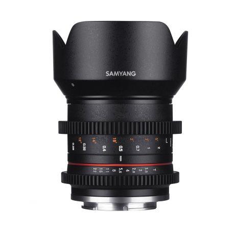 Obiettivo Samyang 21mm T1.5 ED AS UMC CS per mirrorless Canon EOS M