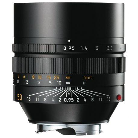Obiettivo LEICA NOCTILUX-M 50mm f/0.95 ASPH Nero