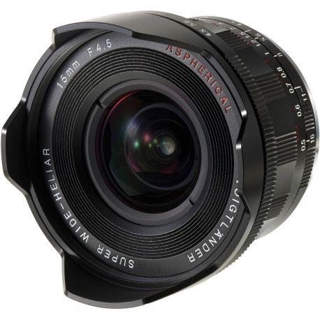Obiettivo Voigtlander S.Wide-Heliar 15mm f/4.5 III x Leica M-mount