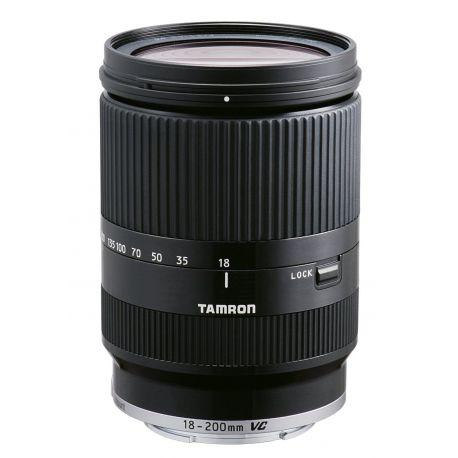 Obiettivo Tamron 18-200mm f/3.5-6.3 Di III VC per Canon EOS M nero