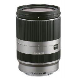 Obiettivo Tamron 18-200mm f/3.5-6.3 Di III VC x EOS M silver