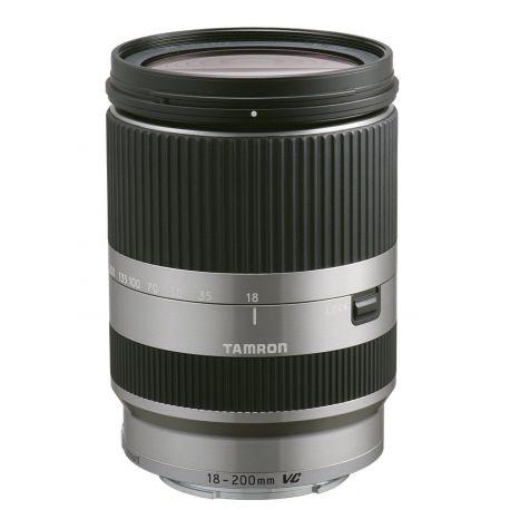 Obiettivo Tamron 18-200mm f/3.5-6.3 Di III VC per Canon EOS M silver