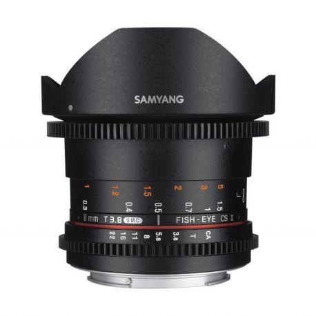 Obiettivo Samyang 8mm T3.8 Asph IF MC Fisheye CS II x Nikon