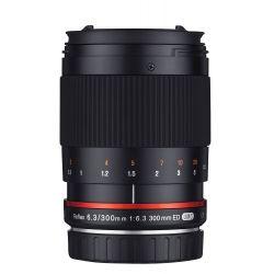 Obiettivo Samyang 300mm f/6.3 Mirror Lens Nero x Canon EOS M