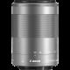 Obiettivo Canon EF-M 55-200mm f/4.5-6.3 IS STM Silver (bulk) per EOS M