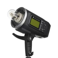 Quadralite Atlas 600 flash professionale da studio 600W + riflettore