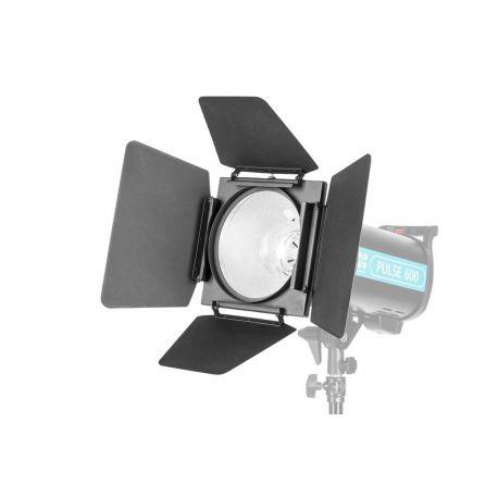 Quadralite Barndoor Kit alette + filtri colorati + griglia