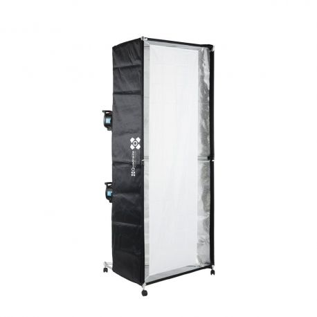 Quadralite Softbox a colonna 100x200cm