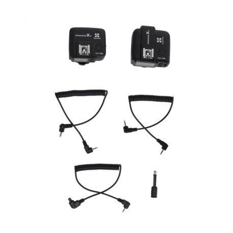 Quadralite Trigger Navigator X per Nikon Kit trasmettitore + ricevitore