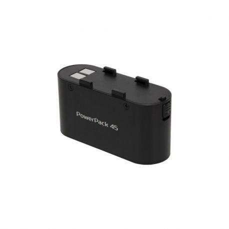 Quadralite PowerPack 45 solo batteria esterna alimentatore x flash Canon Nikon Sony + serie Reporter