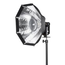 Quadralite Octa softbox 48cm per flash Reporter