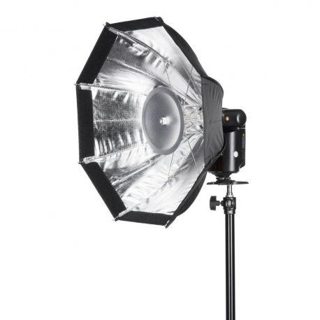 Quadralite Octa softbox 48cm per flash Reporter
