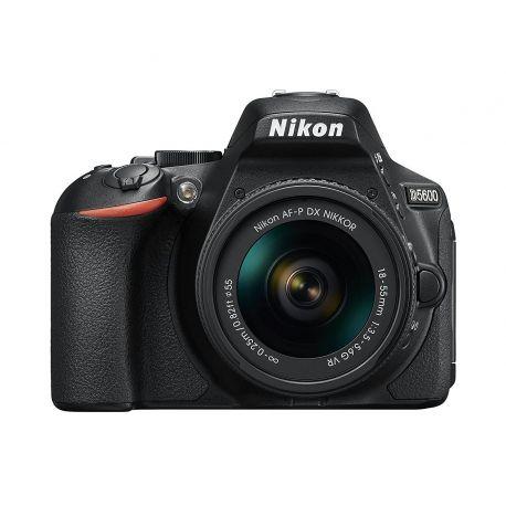 Fotocamera Nikon D5600 kit AF-P 18-55mm VR Nero