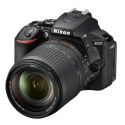 Fotocamera Nikon D5600 kit AF-S 18-140 mm VR Nero
