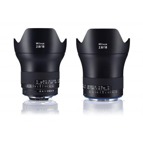 Obiettivo Carl Zeiss Milvus ZE 2.8/18mm per Canon