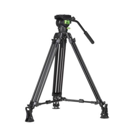 Genesis Base CVT-20 + VF-7.5 kit treppiedi + testa video