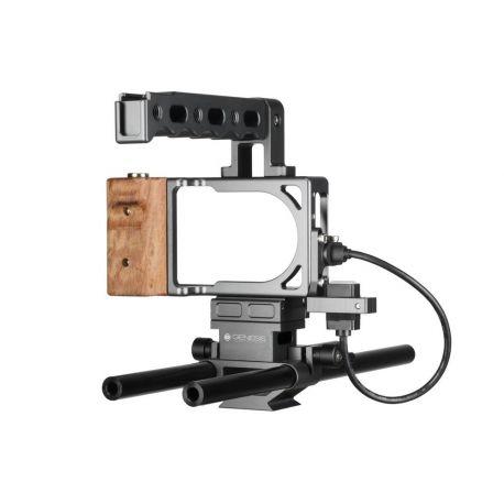 Genesis Cam Cage Gabbia per BMPCC Blackmagic Pocket Cinema Camera
