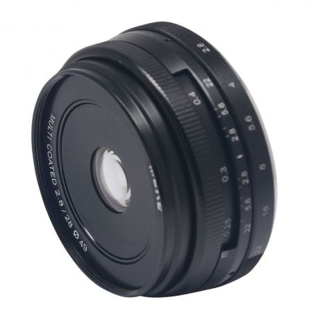 Obiettivo Meike MK-28mm F2.8 per Sony E-Mount