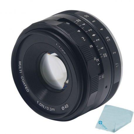 Obiettivo Meike MK-35mm F1.7 per micro quattro terzi